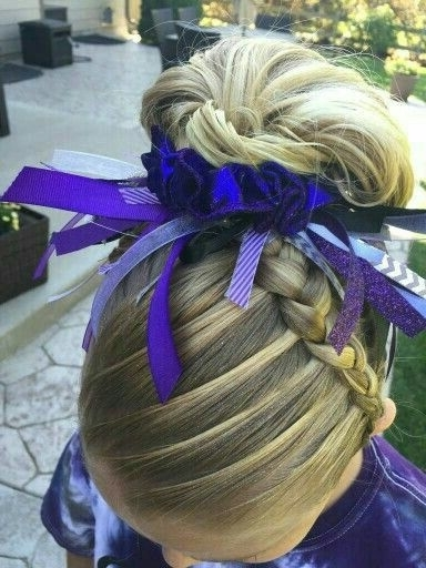 Pinkimberly Lawson On Hair Stuff And Makeup   Pinterest Throughout Most Up To Date Braided Gymnastics Hairstyles (View 12 of 15)