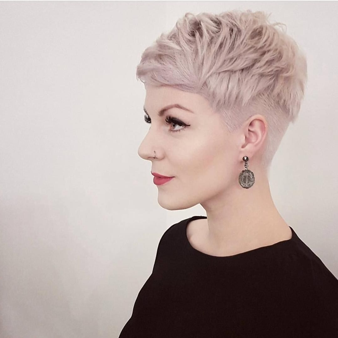Pintrista De Sousa On Hair | Pinterest | Undercut, Pixies And For Best And Newest Tousled Pixie With Undercut (View 10 of 15)