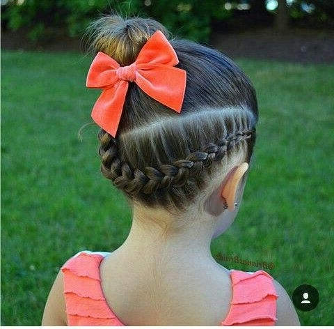 Pinülker Özdo?an On Saç Örnekleri   Pinterest   Hair Style, Girl Within Best And Newest Braided Gymnastics Hairstyles (View 11 of 15)