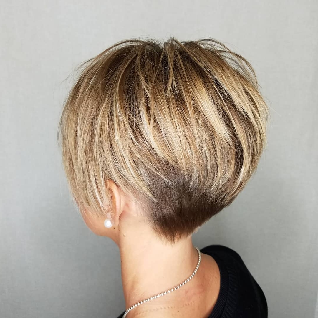 Pixie Haircuts For Thick Hair – 50 Ideas Of Ideal Short Haircuts Pertaining To Most Current Brunette Pixie With Feathered Layers (View 2 of 15)