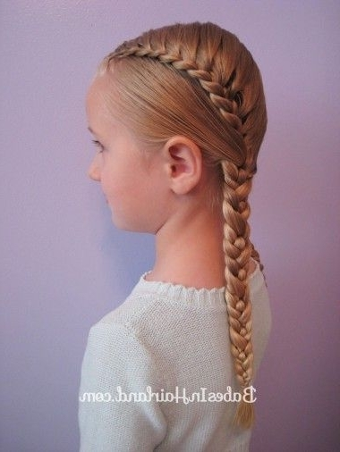 Pretty Pocahontas Braids | The Girls Hair | Pinterest | Lace Braid Intended For 2018 Pocahontas Braids Hairstyles (View 12 of 15)