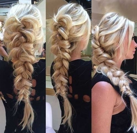 Prom Braided Hairstyles For Long Hair Throughout Prom Braided Inside Newest Braided Hairstyles For Prom (View 13 of 15)