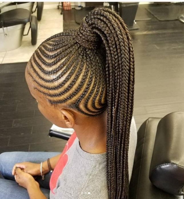 Protective Braid Cornrow Styles – Beauty And Health – Pulselive.co (View 8 of 15)