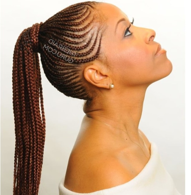 Protective Braid Cornrow Styles – Beauty And Health – Pulselive.co (View 10 of 15)