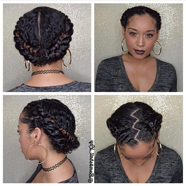 Quick Braided Hairstyles For Black Girls Dope Makeup And Hair For Throughout Most Recent Quick Braided Hairstyles For Natural Hair (Gallery 7 of 15)