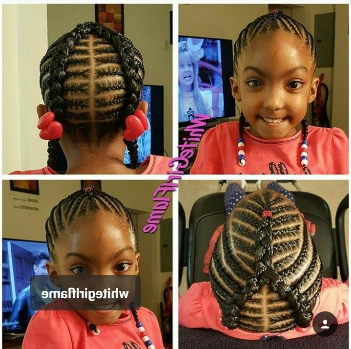 Quick Braided Hairstyles For Black Girls Image Result For Quick And Throughout Best And Newest Quick Braided Hairstyles For Black Hair (Gallery 8 of 15)