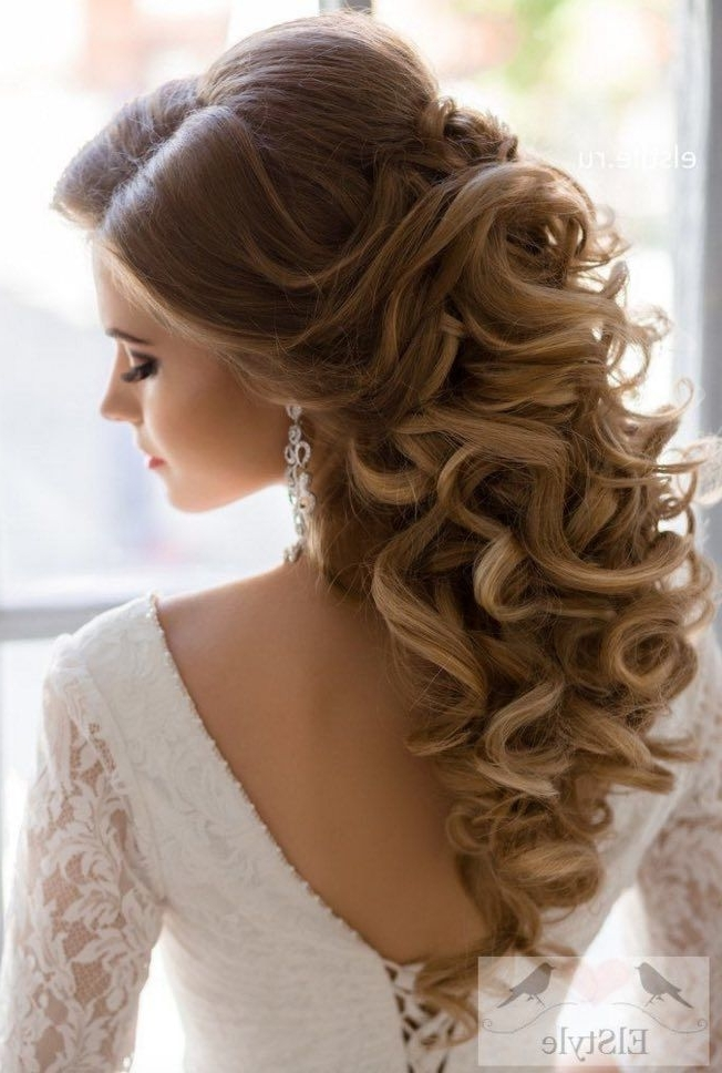Quinceanera Hairstyles With Braids And Curls – Princess Hairstyles In Latest Braided Quinceaneras Hairstyles (View 15 of 15)