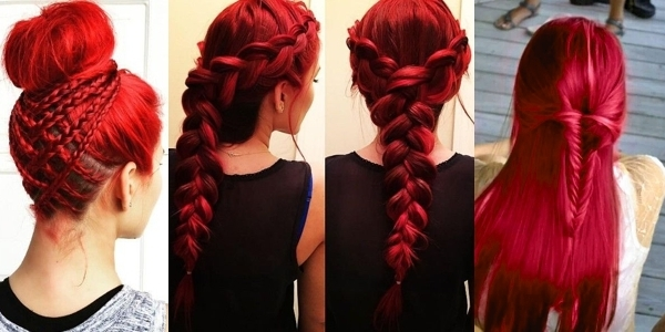 Featured Photo of Braided Hairstyles For Red Hair