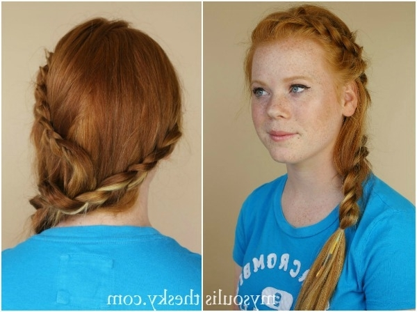 Red Hair Archives | Missy Sue With Best And Newest Braided Hairstyles For Red Hair (View 15 of 15)