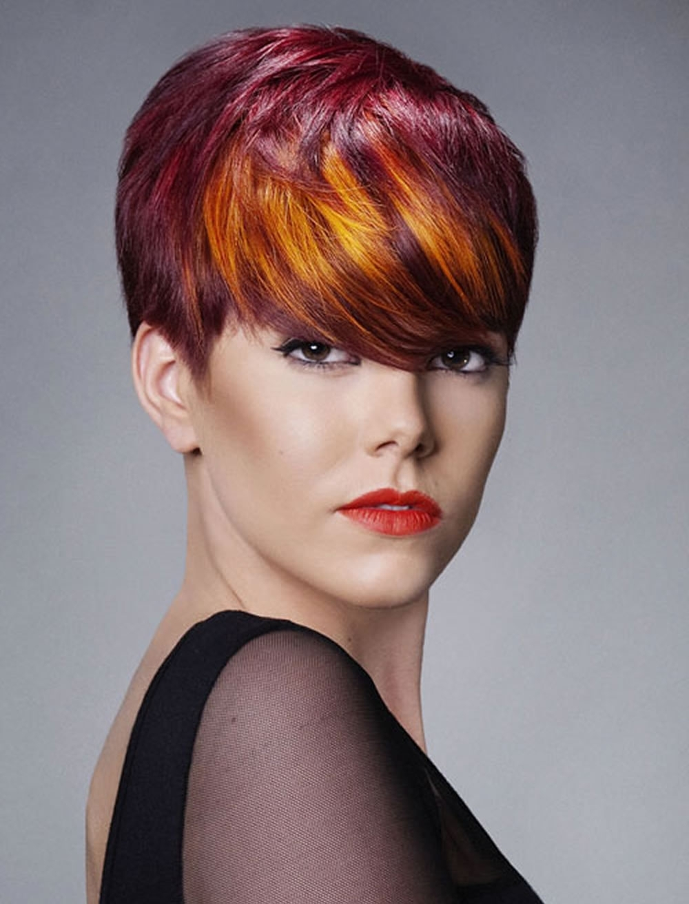 View Gallery Of Ravishing Red Pixie Haircuts Showing 1 Of 15 Photos