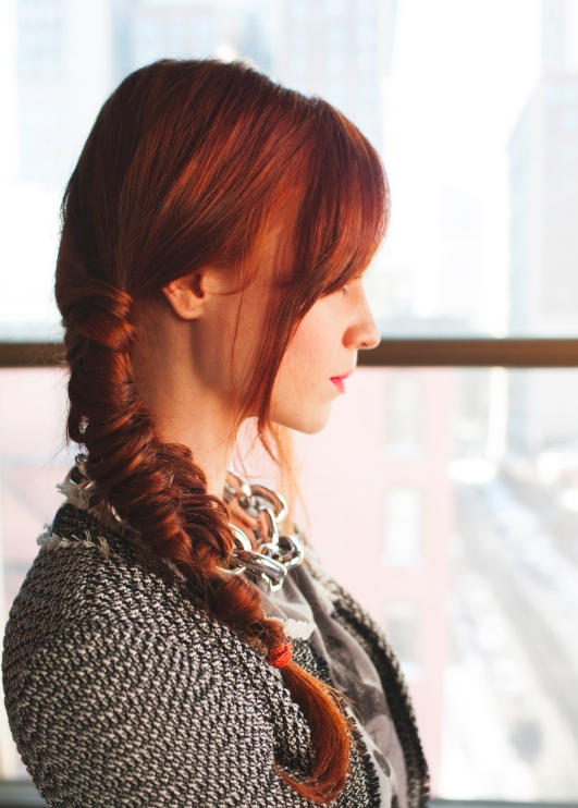 Red Hair Inspires Fishtail Braid: Get The Look In 4 Steps | Huffpost Within 2018 Braided Hairstyles For Red Hair (View 9 of 15)