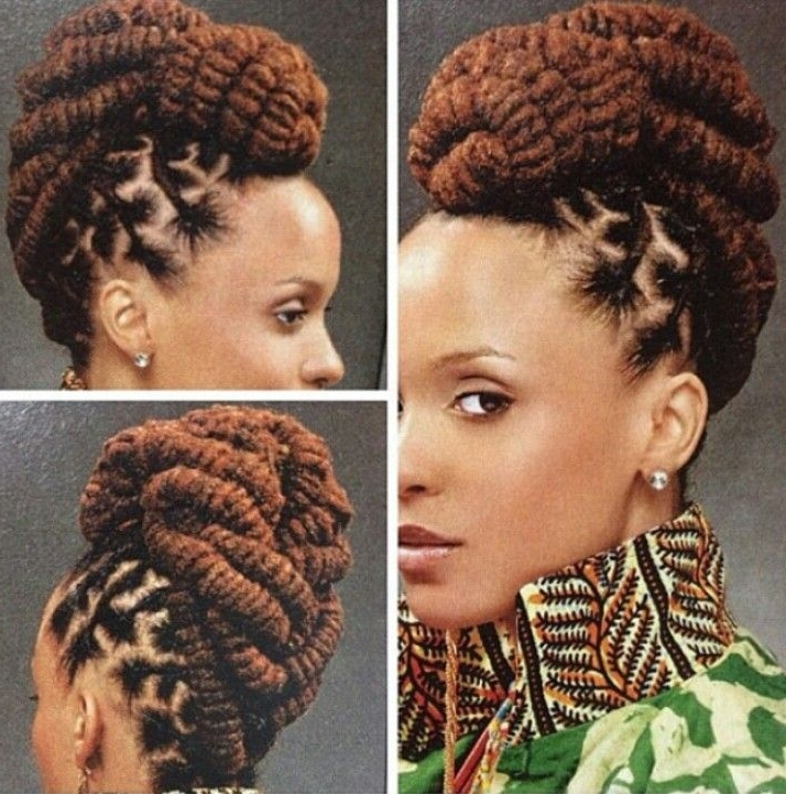 Remarkable Dreadlocks Hairstyles For Weddings Idea For Hair Coulour Pertaining To 2018 Braided Dreads Hairstyles For Women (View 14 of 15)