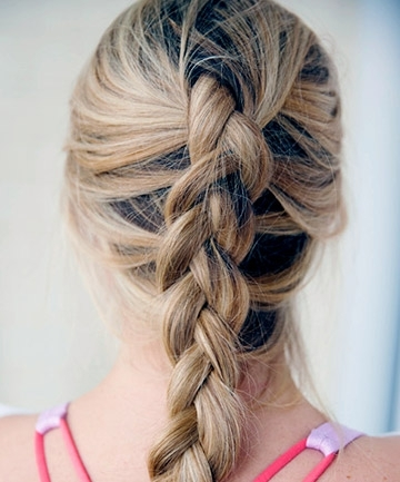 Reverse French Braid , 25 Pretty French Braid Hairstyles To Diy Pertaining To Recent Reverse Braid Mohawk Hairstyles (View 10 of 15)