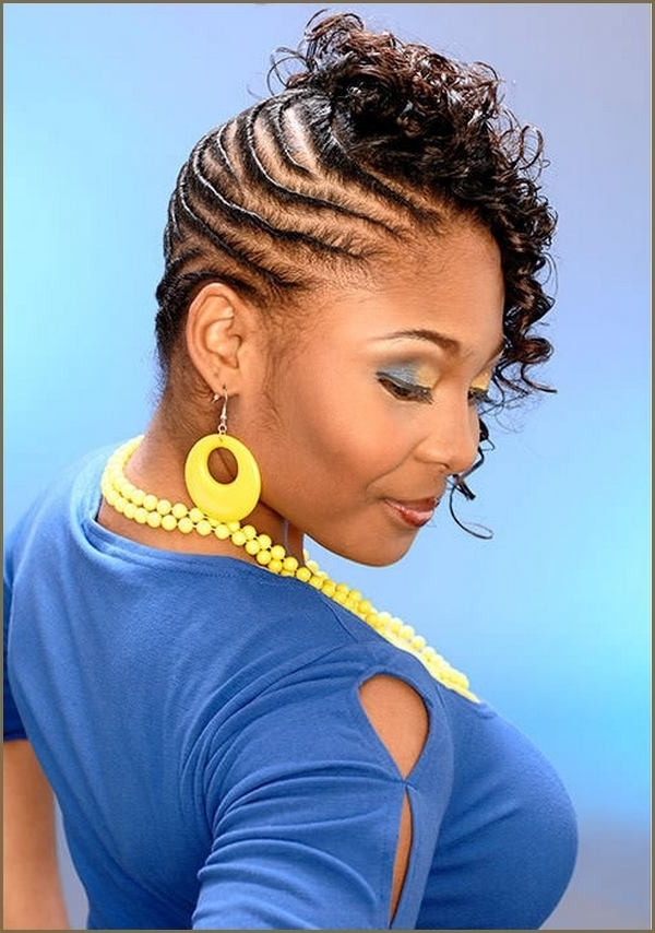 Rope Braid Hairstyles With Most Recent Braided Hairstyles For Relaxed Hair (View 13 of 15)