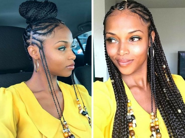 Featured Photo of Cornrows Hairstyles With Beads