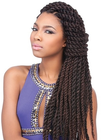 Sensationnel African Collection Jamaican Locks 44 Inch Within Most Recent Jamaican Braided Hairstyles (View 14 of 15)