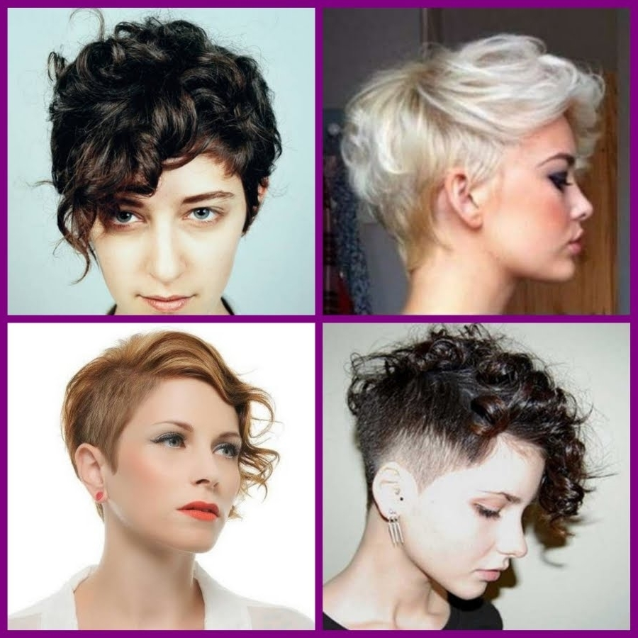 Short Curly Pixie Hairstyles – 20 Short Trendy Hairstyles 2016 – Youtube Inside Latest Long Curly Pixie Haircuts (View 4 of 15)