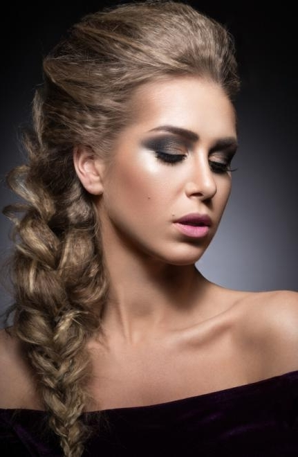 Side Braid Hairstyles In Recent Braided Hairstyles To The Side (View 12 of 15)