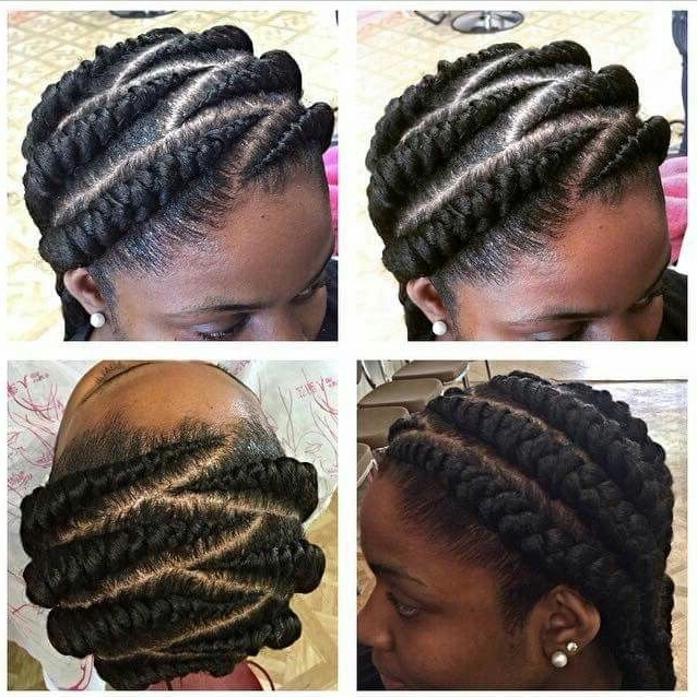 Simple Big Cornrows! | Hairstyles | Pinterest | Big Cornrows Within Recent Simple Cornrows Hairstyles (View 5 of 15)