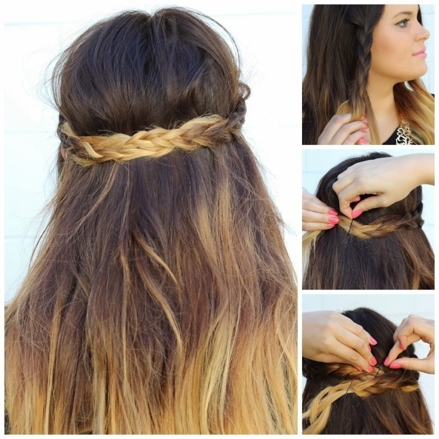 Simple Braided Hairstyles For Long Hair Side Braid Hairstyles For With Regard To Most Recently Simple Braided Hairstyles (View 7 of 15)