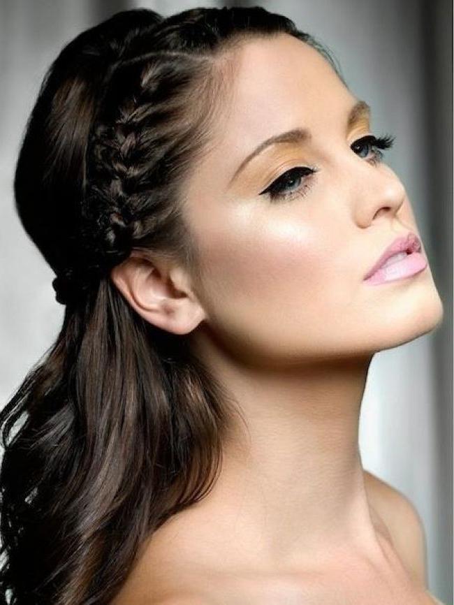 Simple Braided Hairstyles – Leymatson Regarding Best And Newest Simple Braided Hairstyles (View 5 of 15)