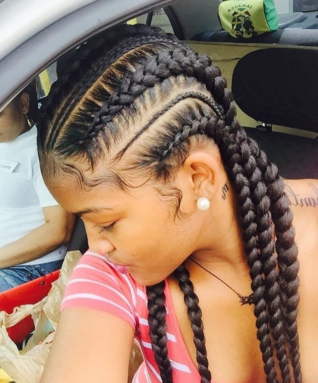 Simple Hairstyle For Straight Back Braids Hairstyles Best Images Inside Most Recently Braided Hairstyles To The Back (View 11 of 15)