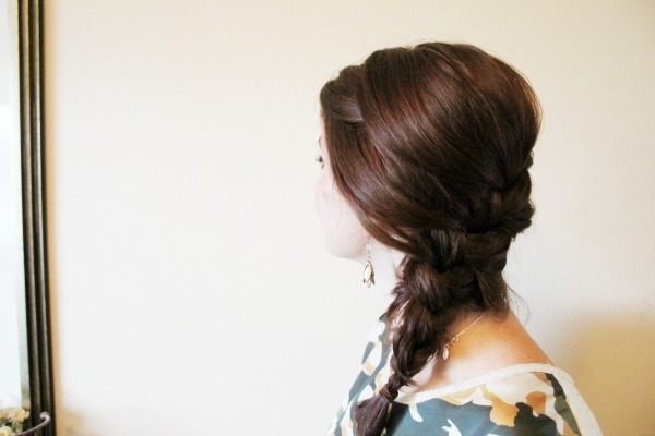 Simple Side French Braid – Ma Nouvelle Mode Pertaining To Latest Loose Side French Braid Hairstyles (View 10 of 15)