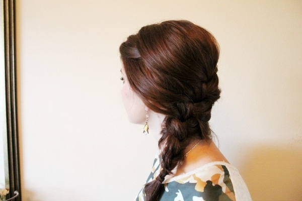 Simple Side French Braid – Ma Nouvelle Mode Pertaining To Recent Simple French Braids For Long Hair (View 4 of 15)