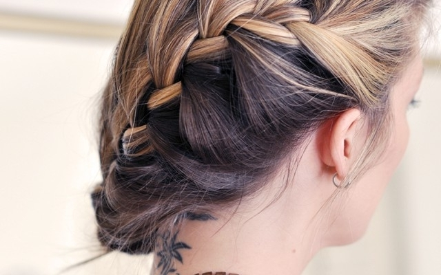 Six Gorgeous Braided Hairstyles For Special Occasions | Beauty For Most Recently Low Side French Braid Hairstyles (View 12 of 15)