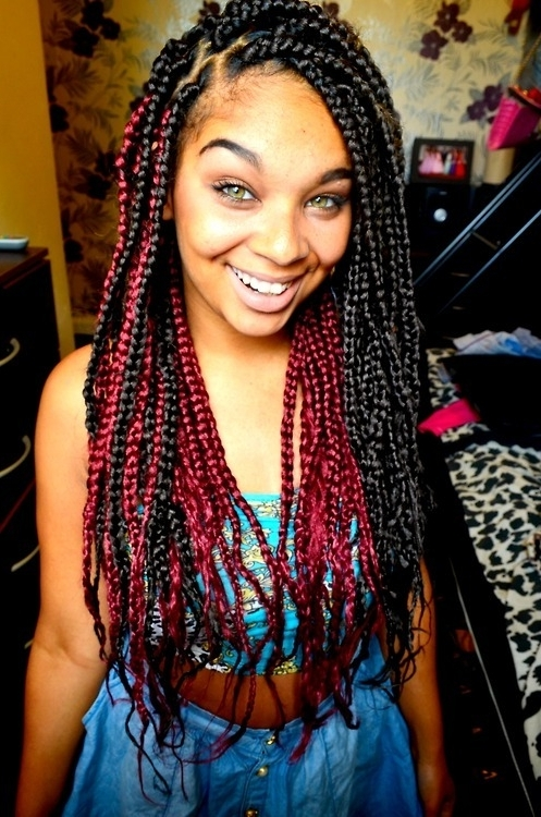 Featured Photo of Ebony Braided Hairstyles