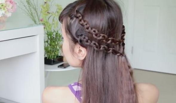 Snake Braid Headband Hairstyle Tutorial Stepstep Pertaining To Recent Snake Braids Hairstyles (View 14 of 15)