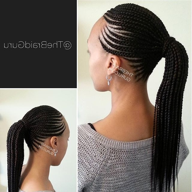 Straight Up Cornrows Hairstyles 2018 - Short Dread Styles | Braiding Hairstyles For 2019