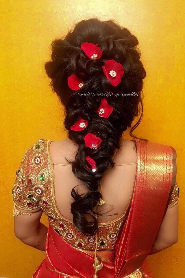 Spring Is In The Hair! Bridal Hairstyle For Reception (View 6 of 15)
