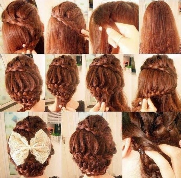 Stepstep Braided Hairstyles With Pictures – Hairstyles With Regard To Most Popular Korean Braided Hairstyles (View 7 of 15)