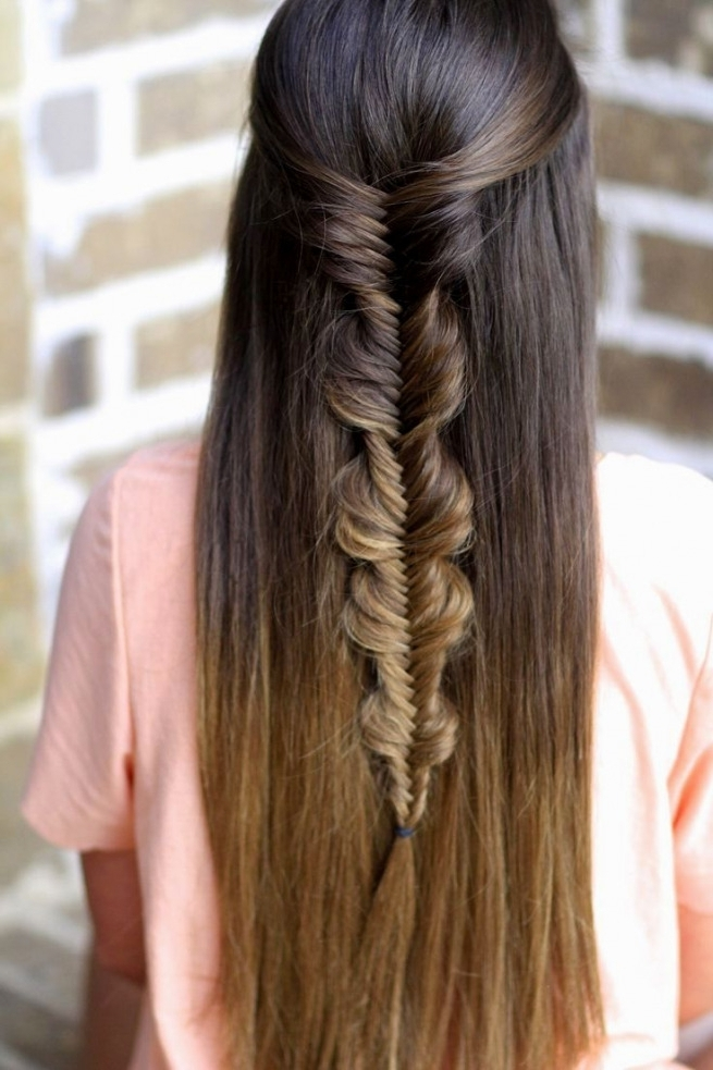 Straight Hair Hairstyles Braid | Hairstyles Ideas | Best Hairstyles In Most Up To Date Braided Hairstyles For Straight Hair (View 12 of 15)