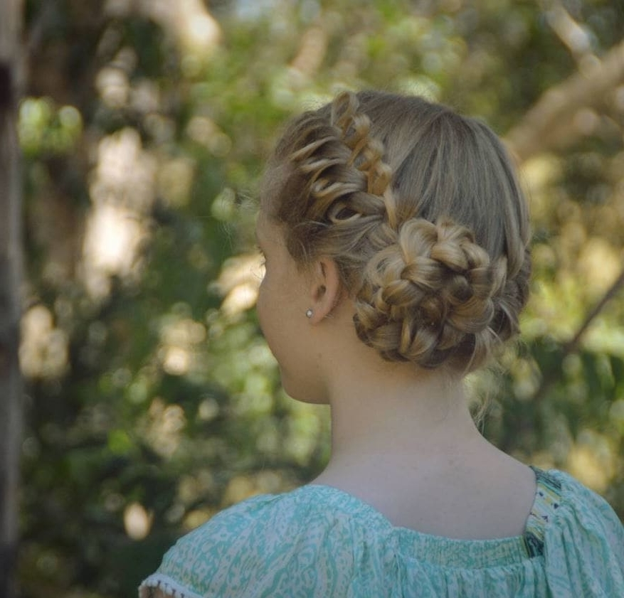 Stunning Bow Braid Hairstyles And How To Create Them Pertaining To Current Elegant Bow Braid Hairstyles (View 13 of 15)
