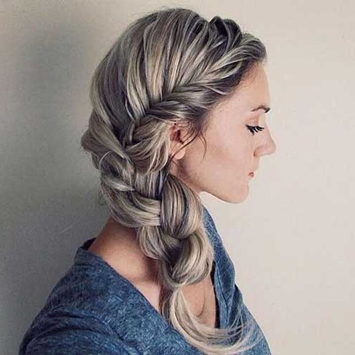Stunning Braided Hairstyles For Long Hair Within Most Current Long Braided Hairstyles (View 12 of 15)