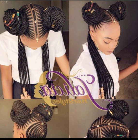 Stunning Cornrow Braid Hair Stylesjalicia Hairstyles For Newest Jalicia Braid Hairstyles (View 4 of 15)
