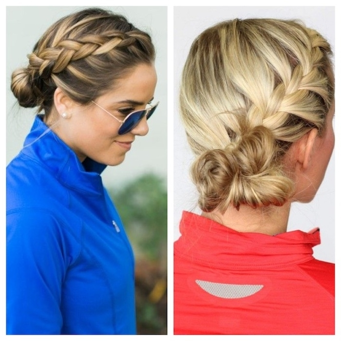 Stylenoted | Athletic Braid Regarding Most Up To Date Braided Running Hairstyles (View 7 of 15)