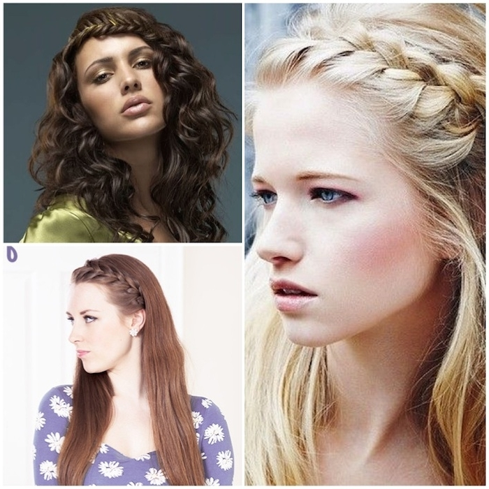 Stylenoted | Weekend Hair Inspiration: The Braided Side Bang With Regard To Best And Newest Braid And Side Bang Hairstyles (View 2 of 15)