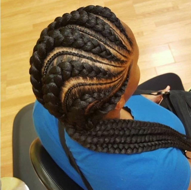 Stylish Cornrow Style To Try Out – Beauty And Health – Pulselive.co (View 7 of 15)