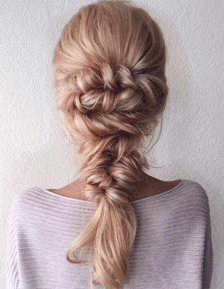 Stylish Mermaid Braids Hairstyles Ideas 2018 | H A I R | Pinterest Intended For Best And Newest Mermaid Braid Hairstyles (View 11 of 15)
