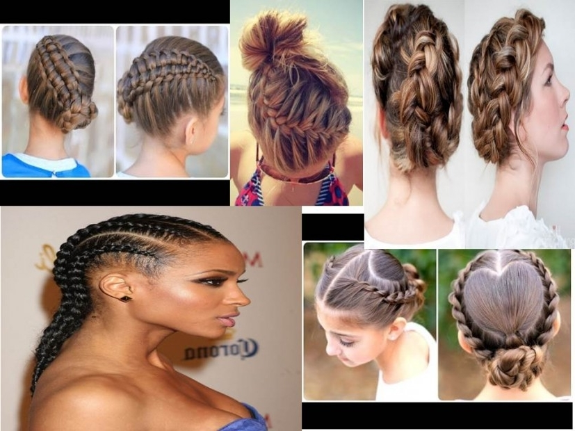 Summer Braided Hairstyles Pertaining To Most Popular Braided Hairstyles For Summer (View 7 of 15)