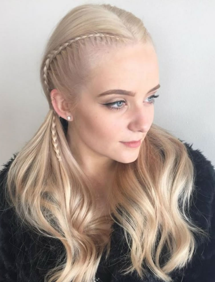 Superb Long Blonde Side Braided Hairstyles For Blonde Women – Hairstyles Inside Most Recently Blonde Braided Hairstyles (View 1 of 15)