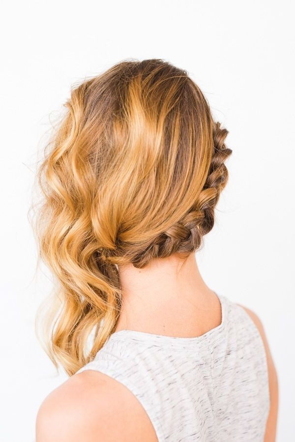 Swept Away: Diy Side Swept Braid And Wave Hair | Braid Hair In Latest Braids And Waves For Any Occasion (View 5 of 15)