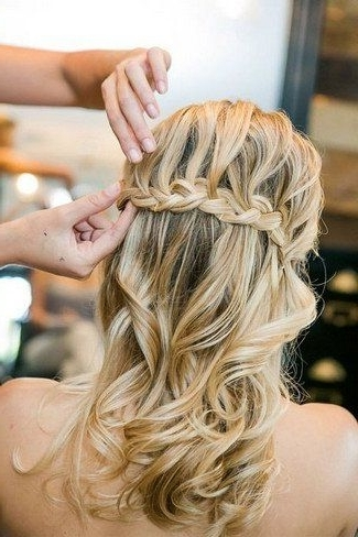 Swoonworthy Braided Wedding Hairstyles | Long Braids, Bridal Regarding Most Recent Long Braided Flowing Hairstyles (View 8 of 15)