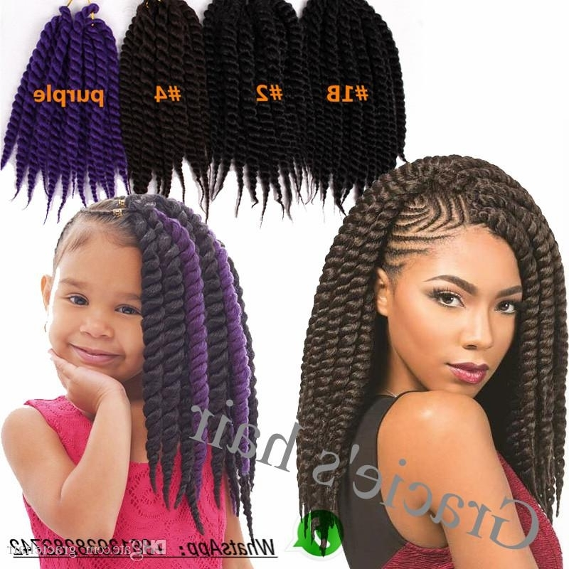 Synthetic Hair Bulks Havana Twist Crochet Braids Synthetic Hair For Best And Newest Braided Hairstyles With Fake Hair (View 7 of 15)