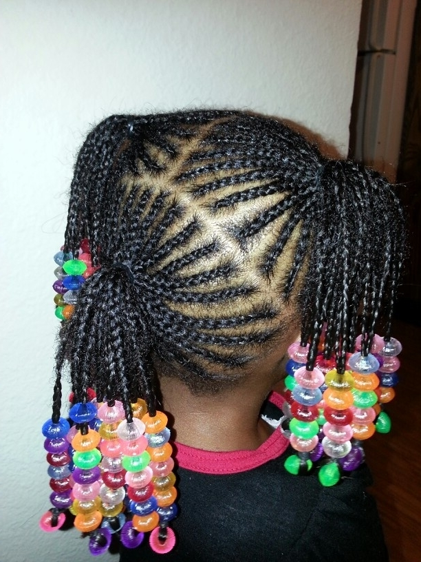 Tbt: Brown Girls Rocking Beads On Braids Inside Latest Braided Hairstyles With Beads (View 15 of 15)