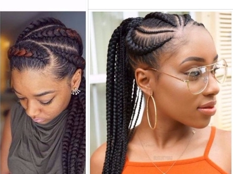 Teenagers, These Braided Hairstyles Are For You! – Youtube Inside 2018 Braided Hairstyles For Afro Hair (View 10 of 15)