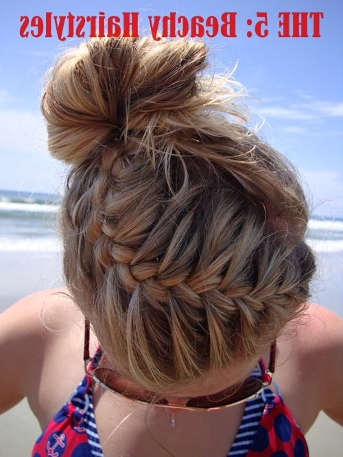 The 5: Beachy Hairstyles With 2018 Braided Hairstyles For Swimming (View 11 of 15)